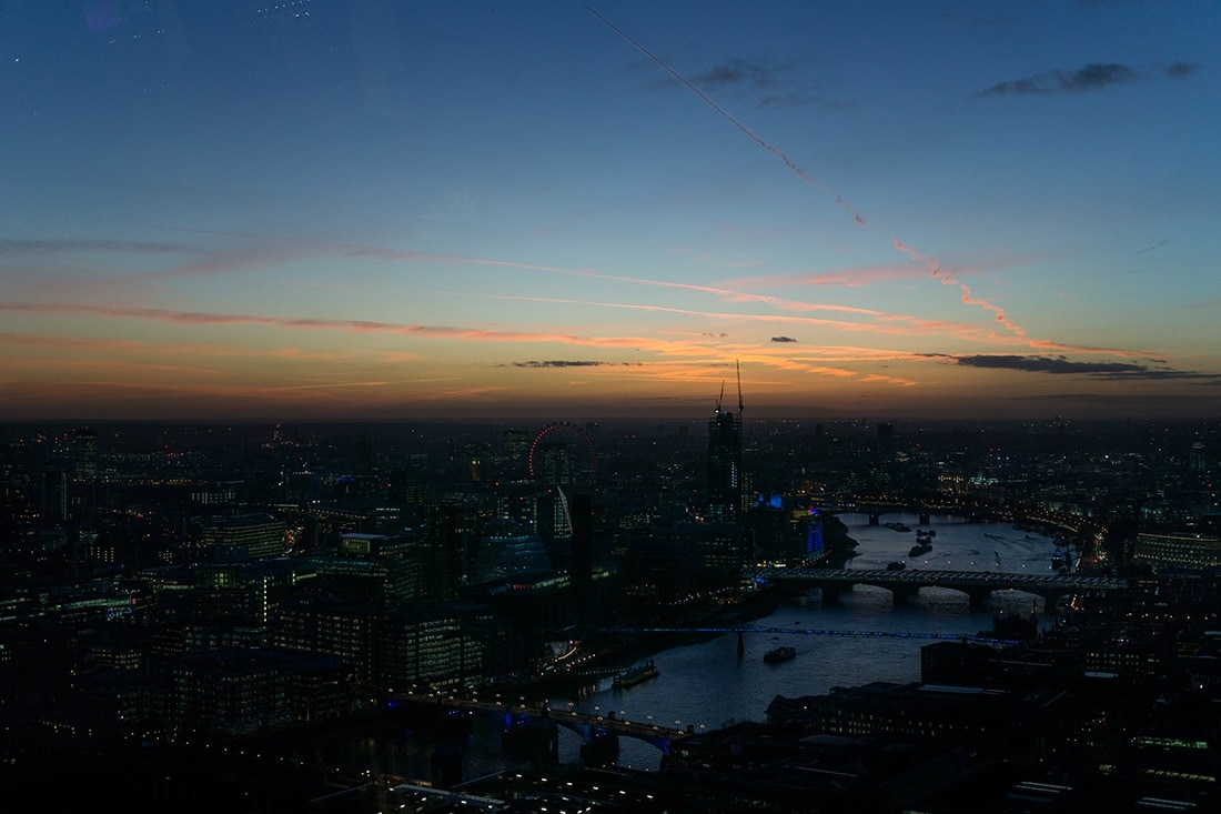 Landscape Sunset London