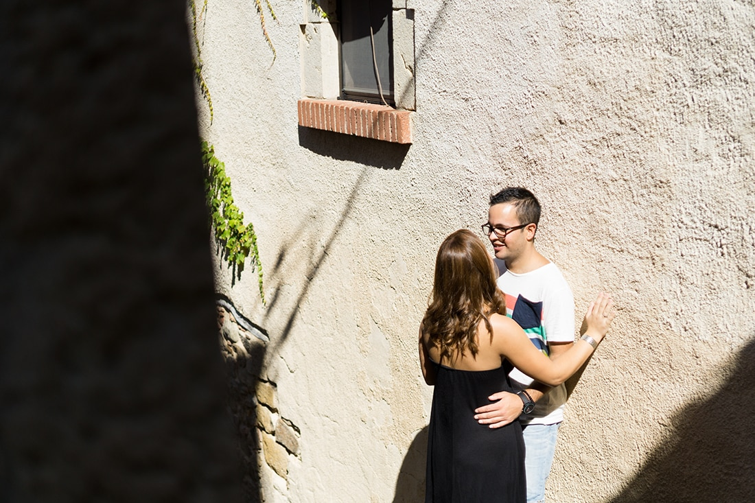 Amor en las calles de Tossa