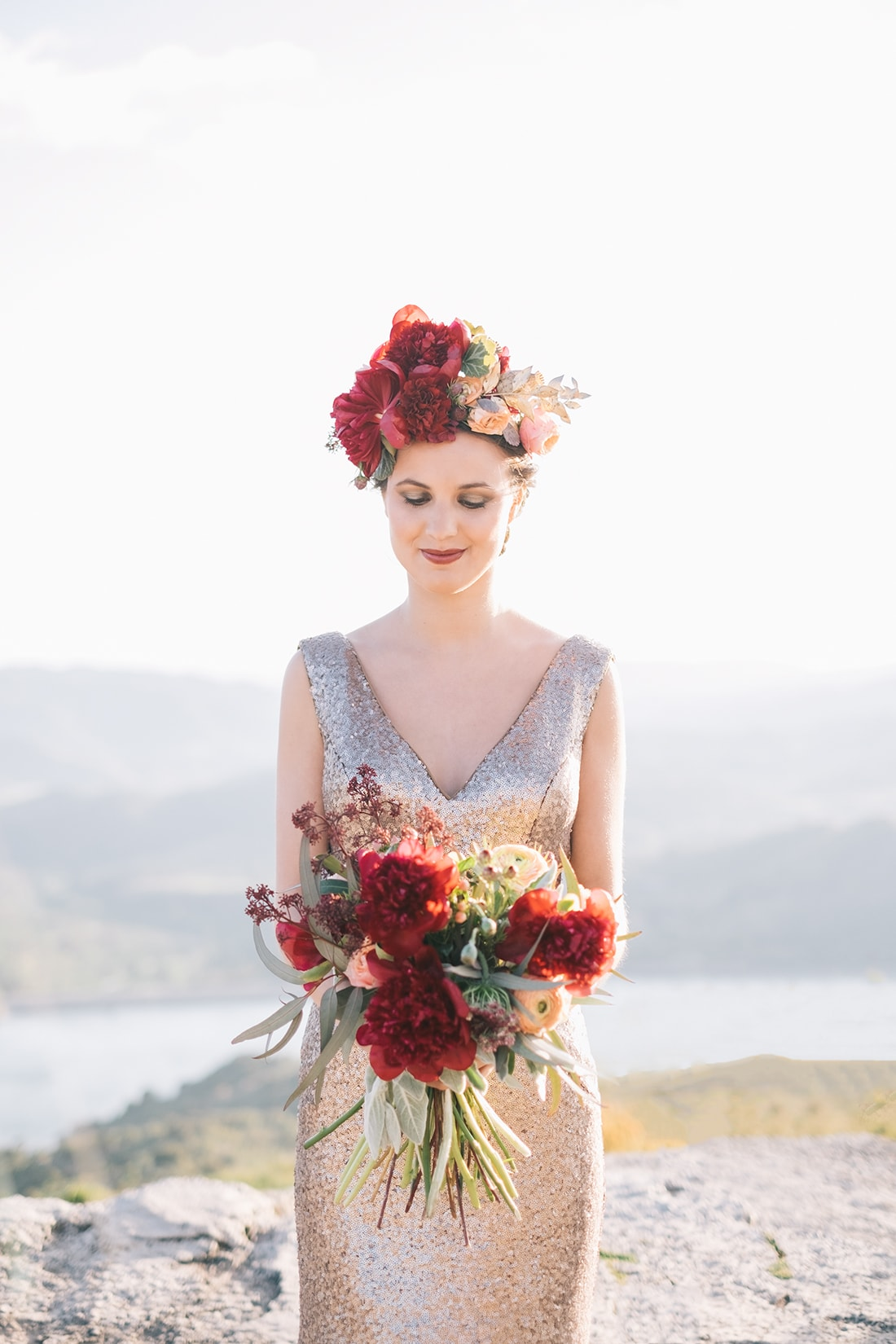 The bouquete wedding editorial